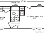 New Mobile Home Model for Sale: Micro by Cavco Homes