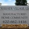 Mobile Home Park for Directory: Creekside Village Manufactured Home Community, Hutchinson, KS