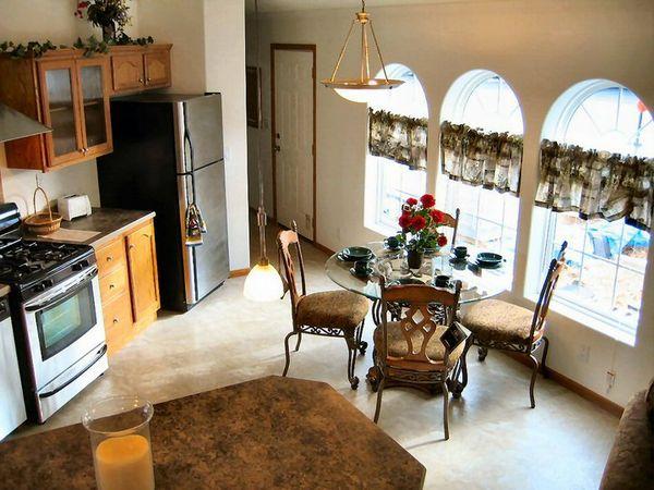 Westwood Manor Senior Village Stainless Steel Appliance Package Chef's Kitchen