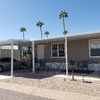 Mobile Home for Sale: Beautiful 3bd 2 ba home in 55 + gated G-36 , Mesa, AZ
