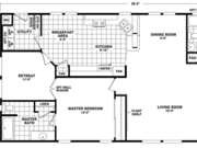 New Mobile Home Model for Sale: Kenton by Cavco Homes