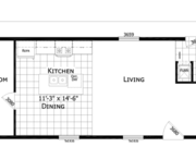 New Mobile Home Model for Sale: Washburn by Champion Home Builders