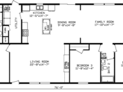 New Mobile Home Model for Sale: Northcliff by Cavco Homes
