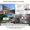 Billboard for Sale: $60,000 OBO  -  Digital LED 2 sided 10'x24' Will reinstall in NE, , NJ