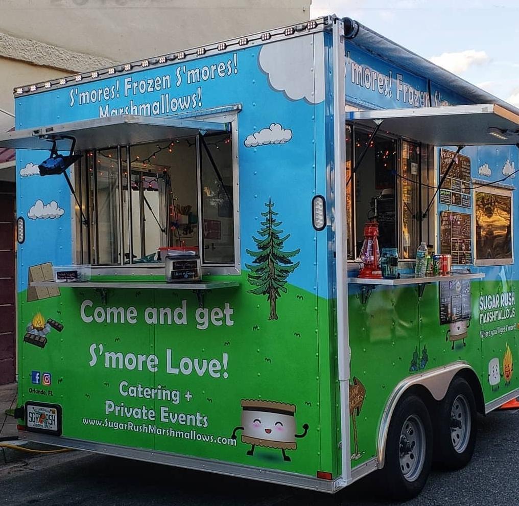 Sugar Rush Marshmallows_old food truck profile image