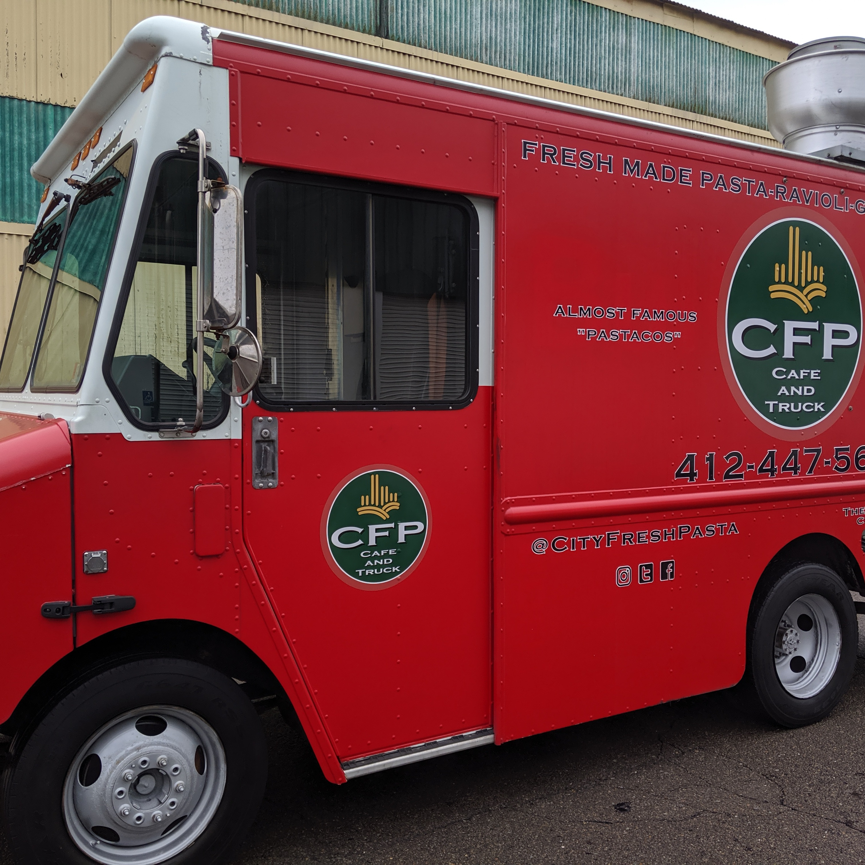 CFP CAFE TRUCK food truck profile image