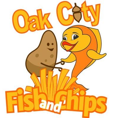 Oak City Fish and Chips food truck profile image