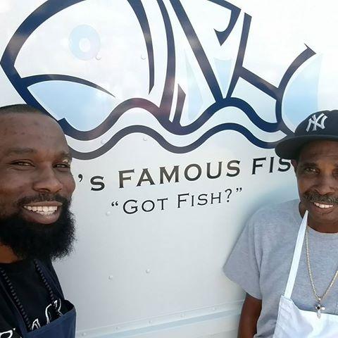 CJ'S Famous Fish food truck profile image