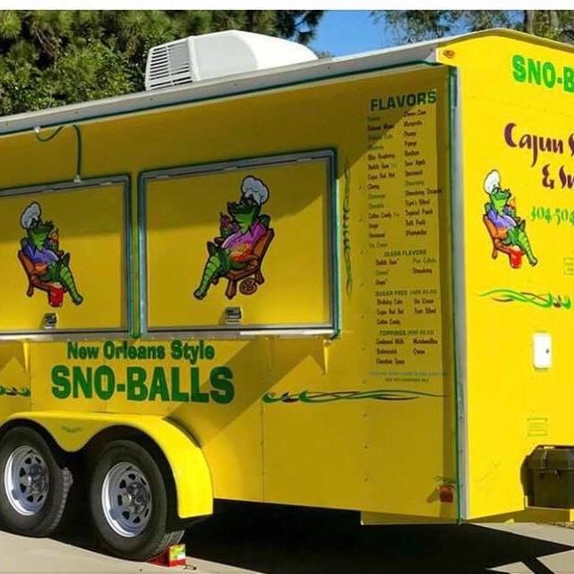 Cajun Sneaux & Snax food truck profile image