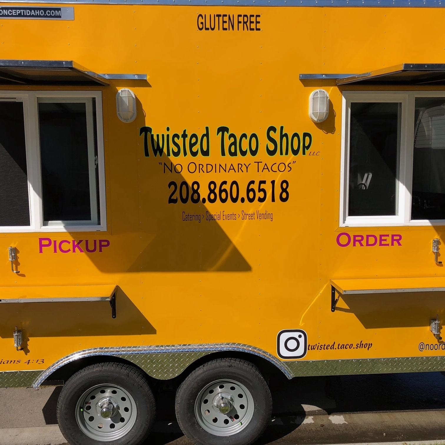 Twisted Taco Shop food truck profile image