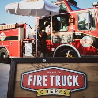 Fire Truck Crepes food truck profile image