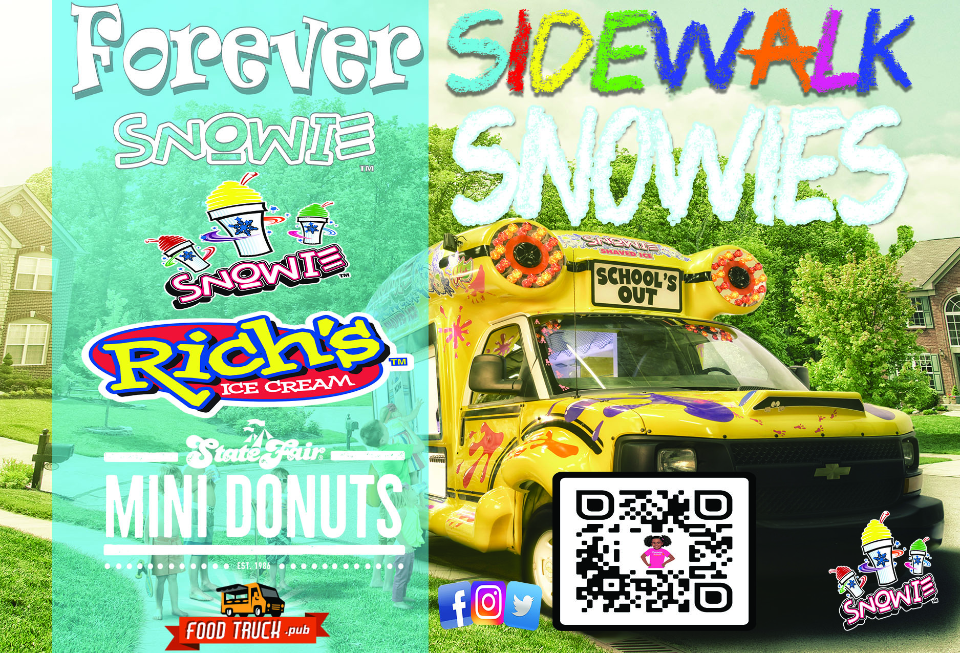Forever SNOWie food truck profile image