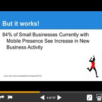 One more free PPT for you: mobile and local search stats for SMB