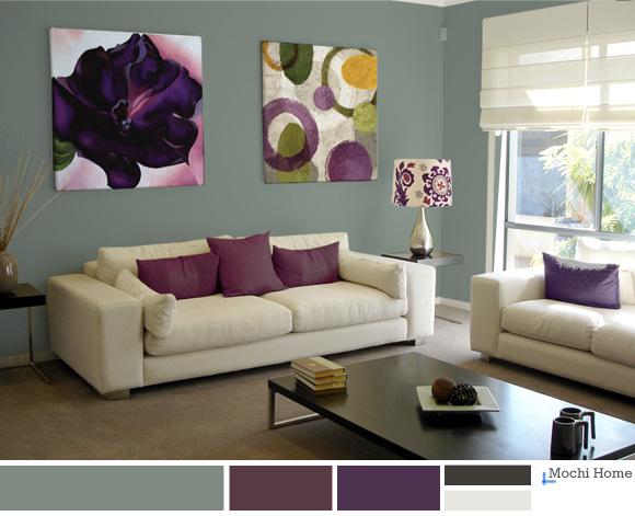 Blue Sage Living Room
