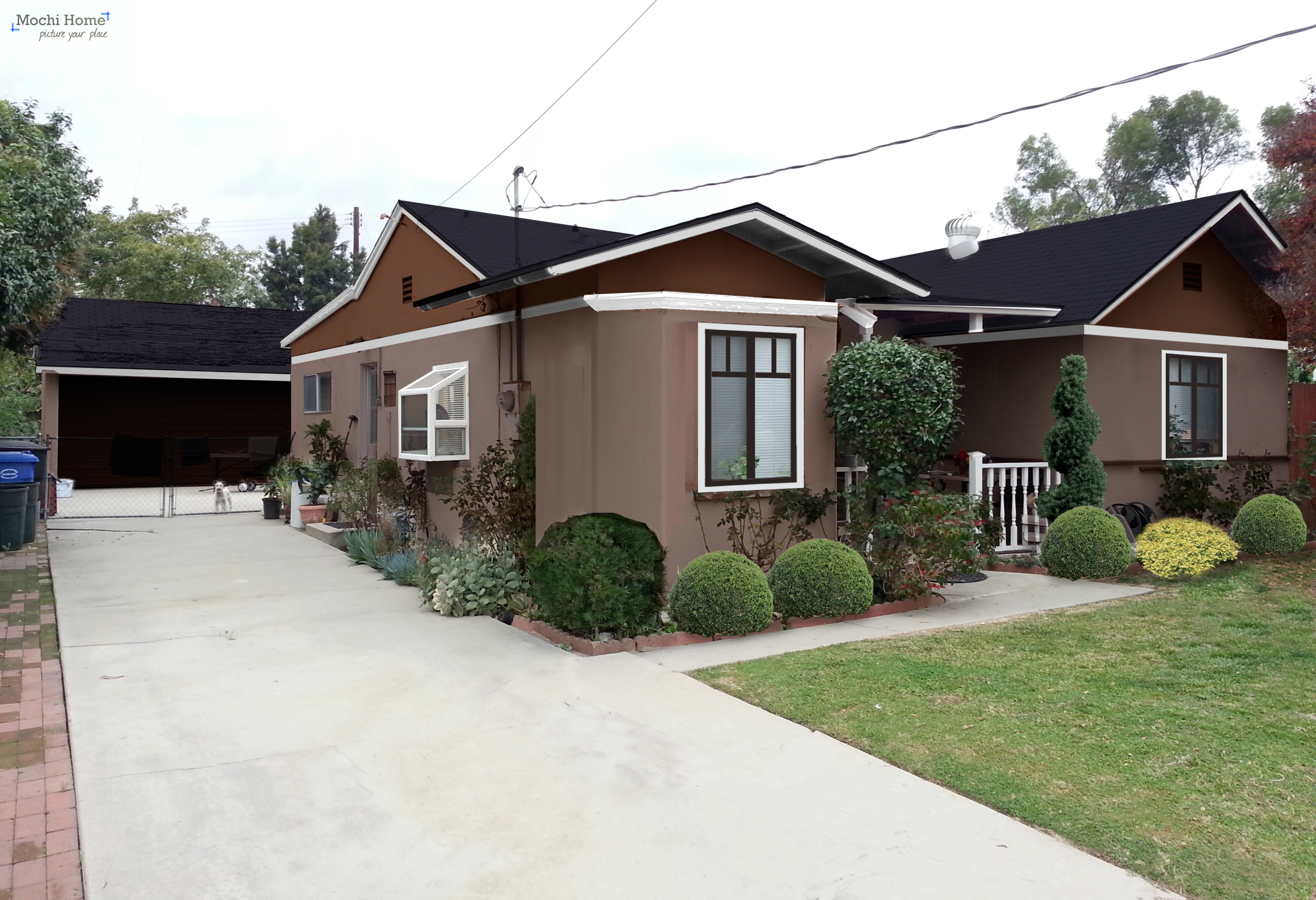 Exterior House Colors Brown