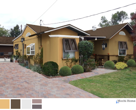 Diy Earthtone Stucco Bungalow Mochi Home Mochi Home