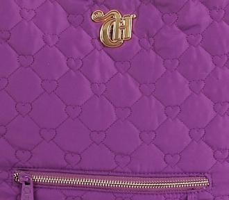 bolsa tote capricho love vii purple detalhe