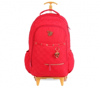 mochilete capricho love vii red frente