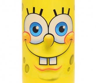 garrafa bob esponja yellow detalhe