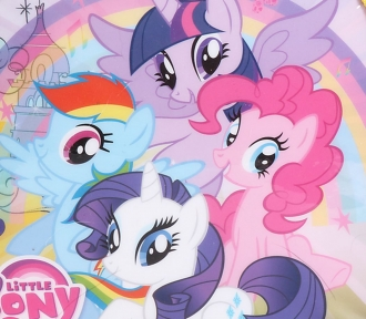 lancheira my little pony detalhe