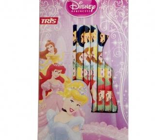 lápis de cor princesas detalhe