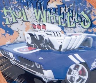 mochila hot wheels 16z detalhe