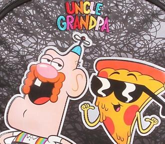 mochilete uncle grandpa grande detalhe