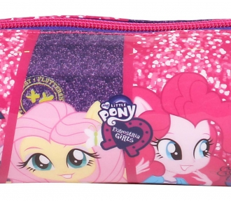 estojo equestria girls faces soft detalhe