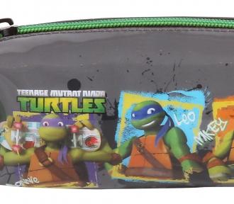estojo tartarugas ninja brothers detalhe