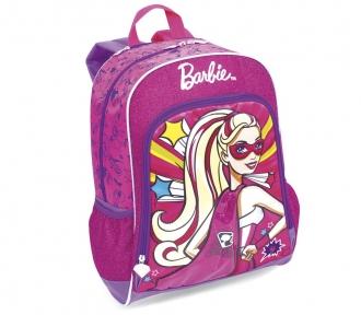 mochila barbie super princesa frente