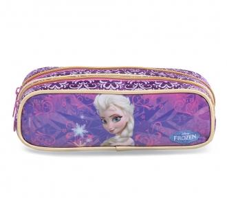 Estojo Frozen Elsa Duplo 6597