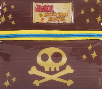 lancheira jake and pirates detalhe