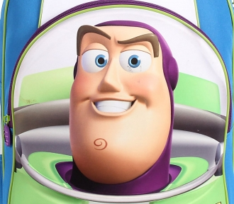 mochilete toy story 3d buzz grande detalhe