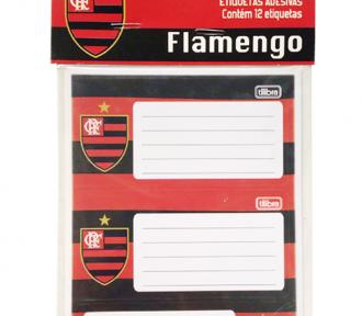 etiqueta escolar flamengo detalhe