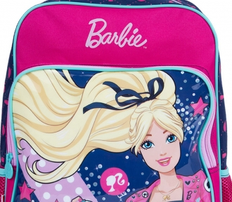 Mochila Barbie 17M Plus Com Bolso 8709