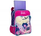 Mochila Barbie 17M Plus Com Bolso 7730