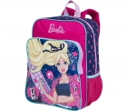 Mochila Barbie 17M Plus Com Bolso 7731