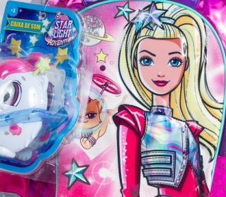 Mochila Barbie Aventura nas Estrelas Verde Grande 7804