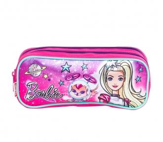 Estojo Barbie Aventura nas Estrelas Verde Duplo 8043