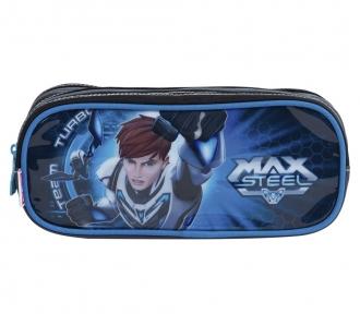 Estojo Max Steel 17M Triplo 7938