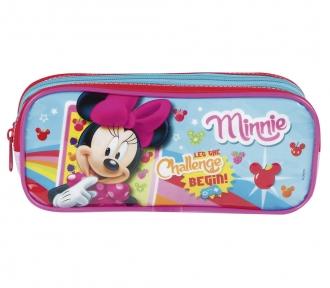 Estojo Minnie 17M Plus Duplo 7963