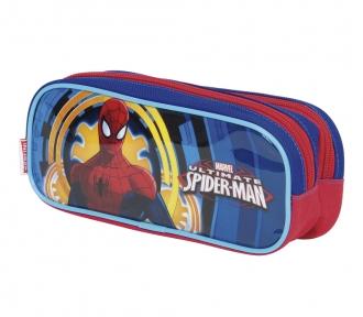 Estojo Spiderman 17X Duplo 8023