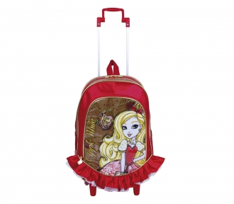 Mochilete Ever After High Apple White 17Y Grande 8187