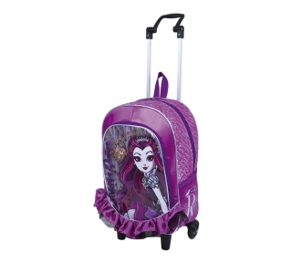 Mochilete Ever After High Raven Queen 17Y Grande 8182
