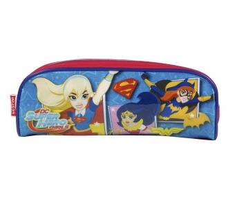 Estojo Super Hero Girls 17M Soft 8486