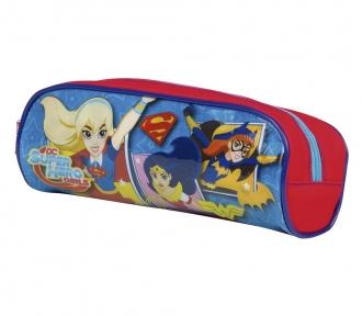 Estojo Super Hero Girls 17M Soft 8487