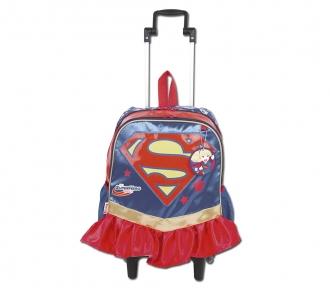 Mochilete Super Hero Girls 17Y Super Girl Grande 8503