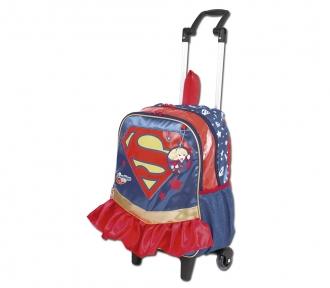 Mochilete Super Hero Girls 17Y Super Girl Grande 8504