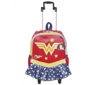 Mochilete Super Hero Girls 17Y Wonder Woman Grande 8508