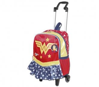 Mochilete Super Hero Girls 17Y Wonder Woman Grande 8509
